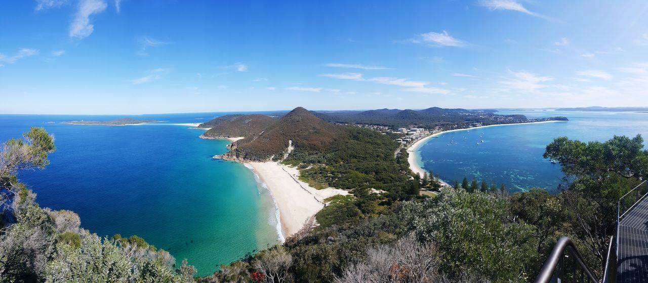 Zenith Beach Nelson Bay Panoramic Landscape