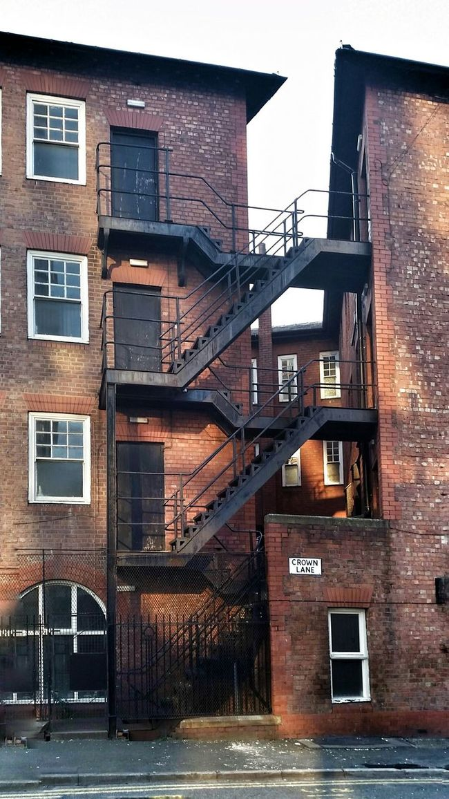 Manchester Crown Lane Staircase