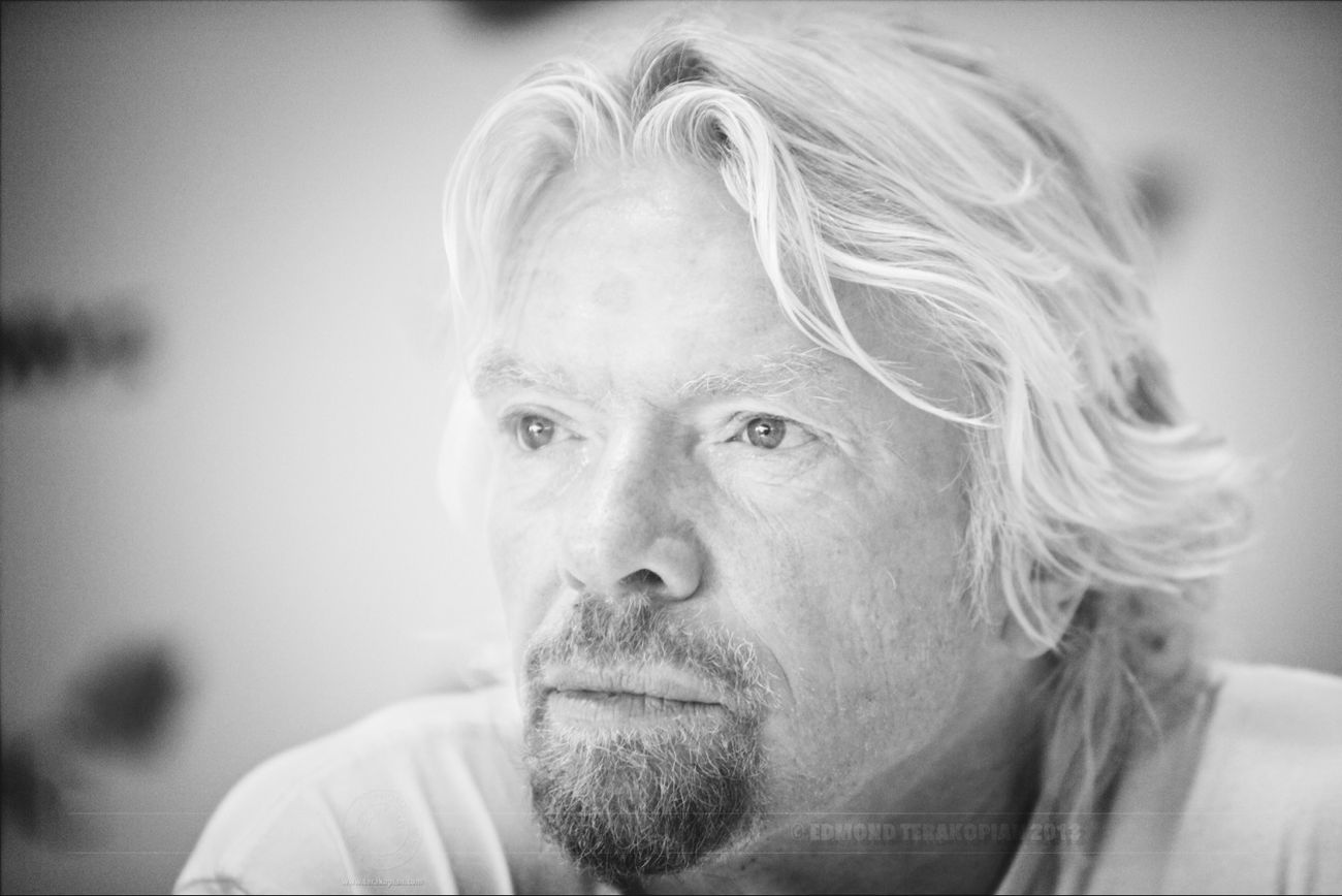 Sir Richard Branson @richardbranson , Cancun, Mexico. #portrait @virginatlantic Portrait Virgin  Virgin Atlantic Richard Branson