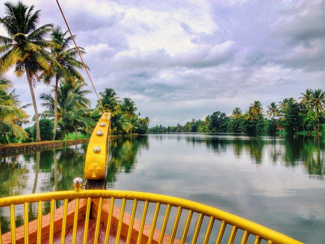 Shikara boat ride in the backwaters of Alleppey , Kerala. Kerala Travel Photography Indiatravel Read the full story at http://bit.ly/1yScjBq