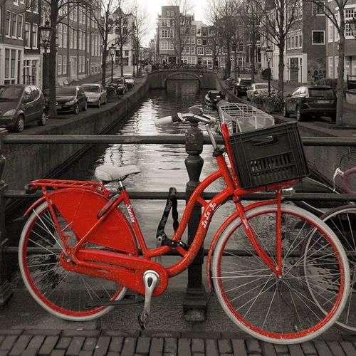 Amsterdam Holland Red Light District RED Amsterdam Red Lights Red Black Amsterdamcity Bicycles Bike Travel