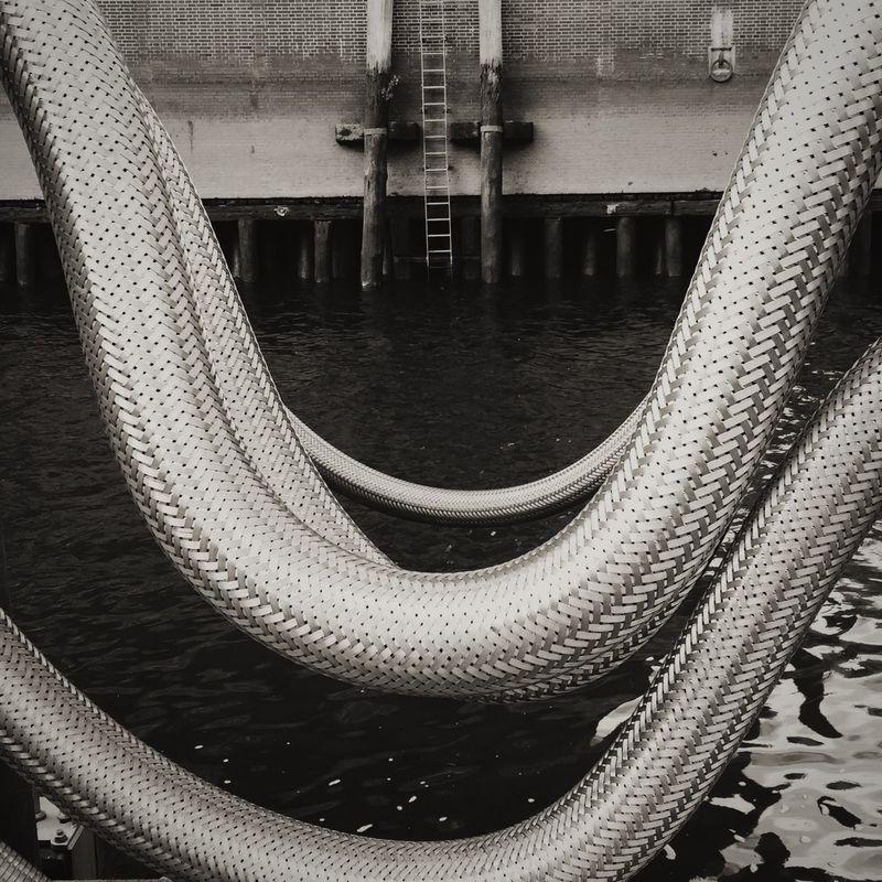 Hamburg Urbanphotography Metal Blackandwhite Hamburg Harbour