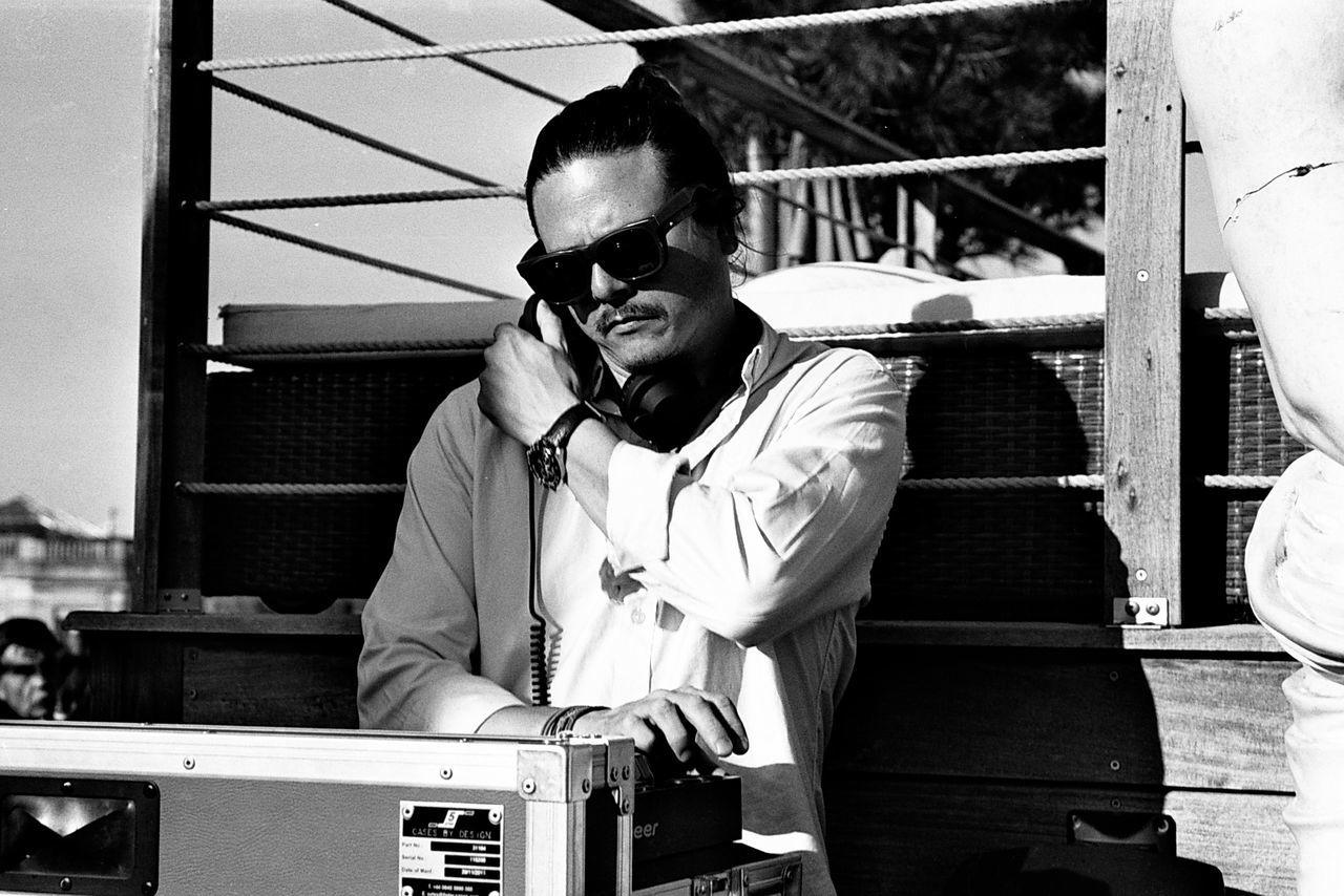 35mm Film Analog Analogue Photography Blackandwhite Dj EyeEm Best Shots Filmisnotdead Ishootfilm Johnny Depp Lifestyles Music Sunglasses