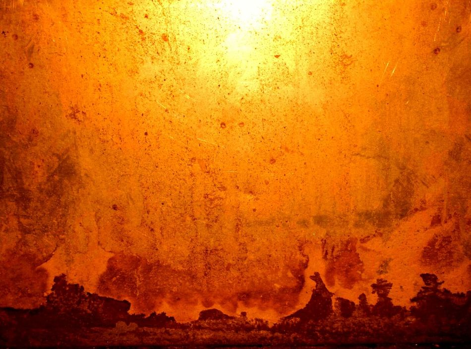 Orange Color Close-up Indoors  No People Backgrounds Nature Sky Day High Noon Beauty In Nature Metaphorical Photography Abstract Photography California Dreaming Desert Sunset Desert Sunrise MuddyWater Mountains Mountain Red Industrial Decay Closeup Full Frame Creativity Abstract Expressionism Tao