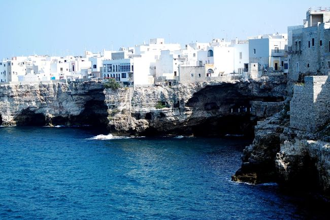 Beautiful Puglia Italy Great Destinations Taking Photos Sea View