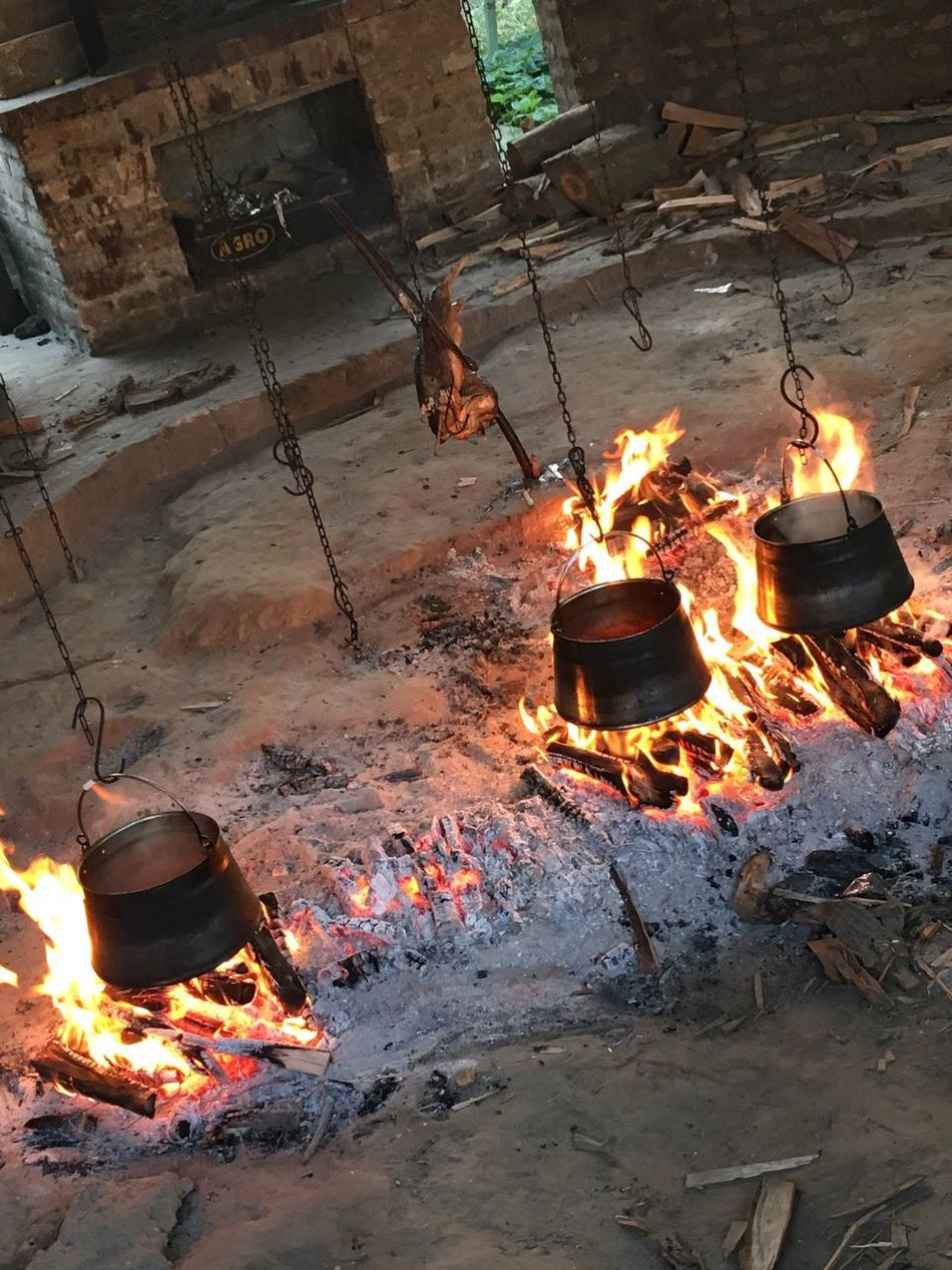 Fire 🔥 Glowing Melting Bonfire Food Cultures Outdoors No People Flame Burning Food Fish