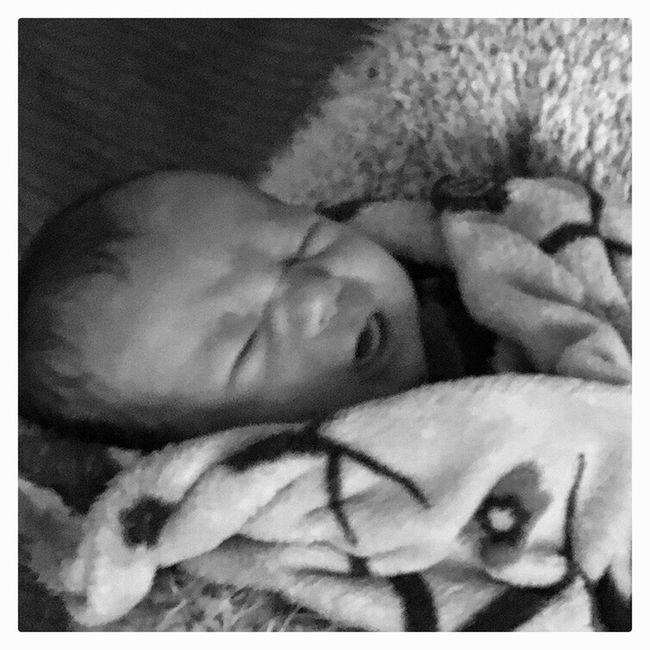 Babyboy Baby Blackandwhite Monochrome
