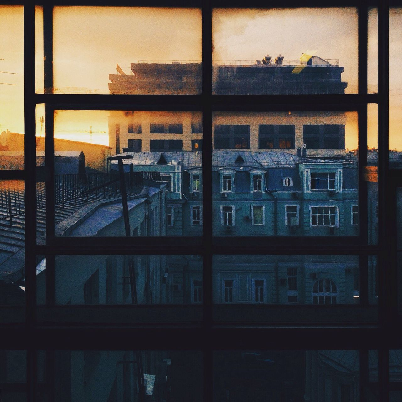 architecture, built structure, window, building exterior, no people, reflection, indoors, day, city
