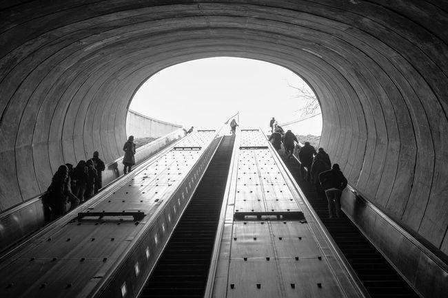 Washington, D. C. Public Transportation Subway Notes From The Underground Fujifilm X-E2