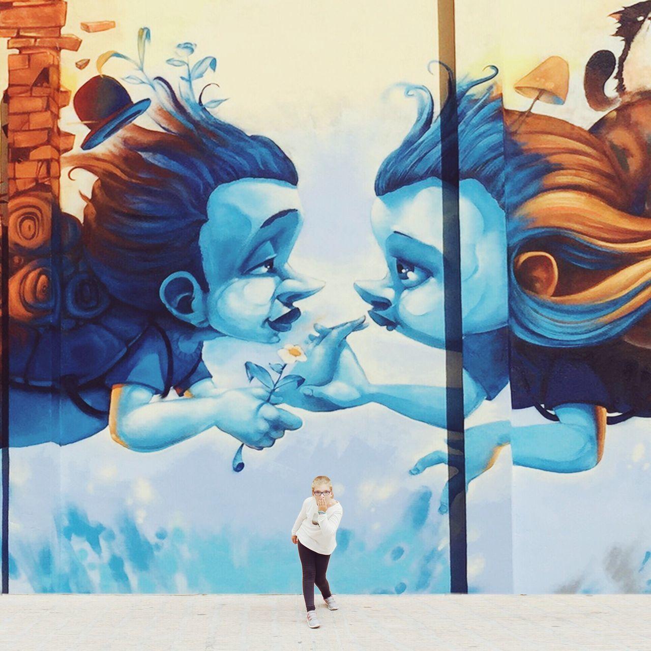 Graffiti People One Person