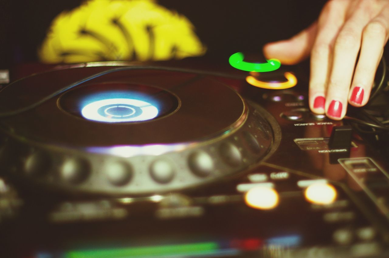 Beautiful stock photos of music festival, Arts Culture And Entertainment, Black Color, Close-Up, DJ