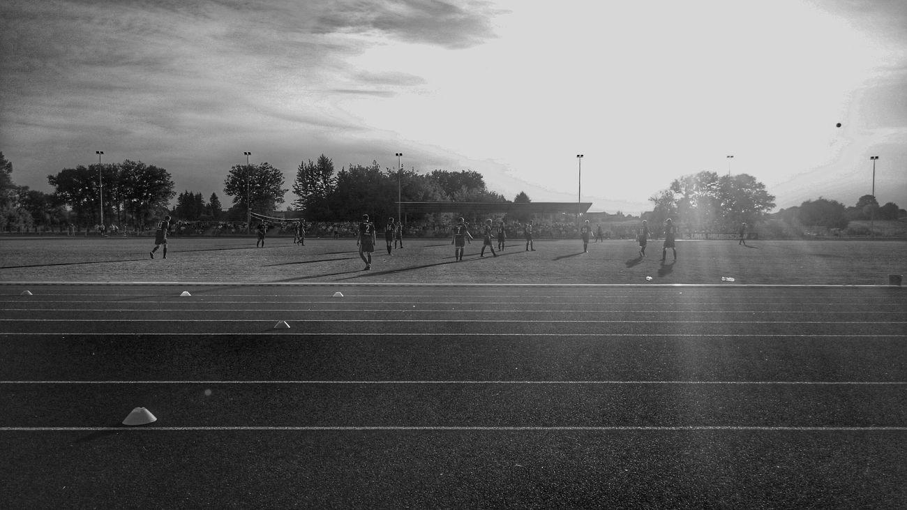 Taking Photos Blackandwhite Football Soccer⚽ Uniahrubieszow
