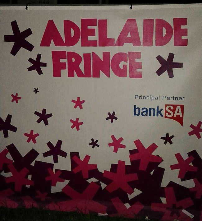 Adelaide Fringe Banner Poster Banners Posters Fringe Festival City Of Adelaide Notice Festival Festivals Poster Collection Posterporn Adelaide, South Australia Adelaide S.A. Poster! Posterwall Wall Poster Postercollection Poster Wall Fringe Festval Music Notices Advertisement Posters Advertisement Signage Advertisingposters Signs, Signs, & More Signs