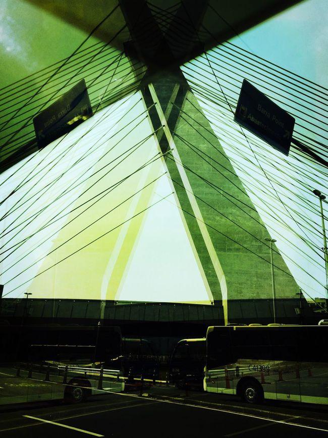 Hipstamatic Salvador Day Multi Colored Vibrant Color Geometric Shape Hipstamatic Bridge Modern