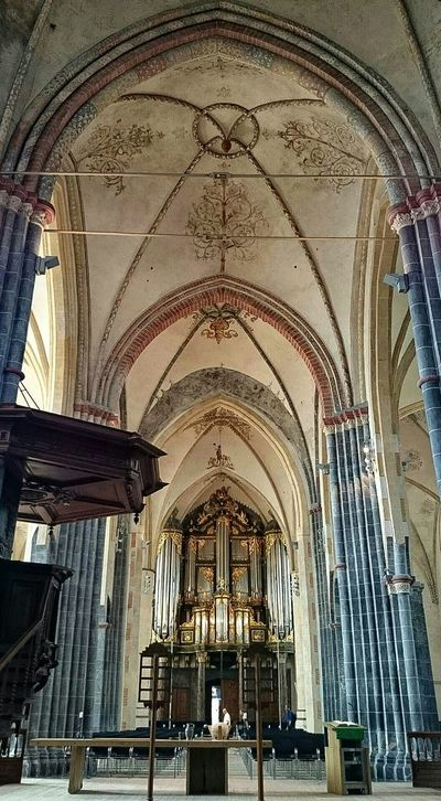Middleages, Architecture, inside the Old Church Church Organ,