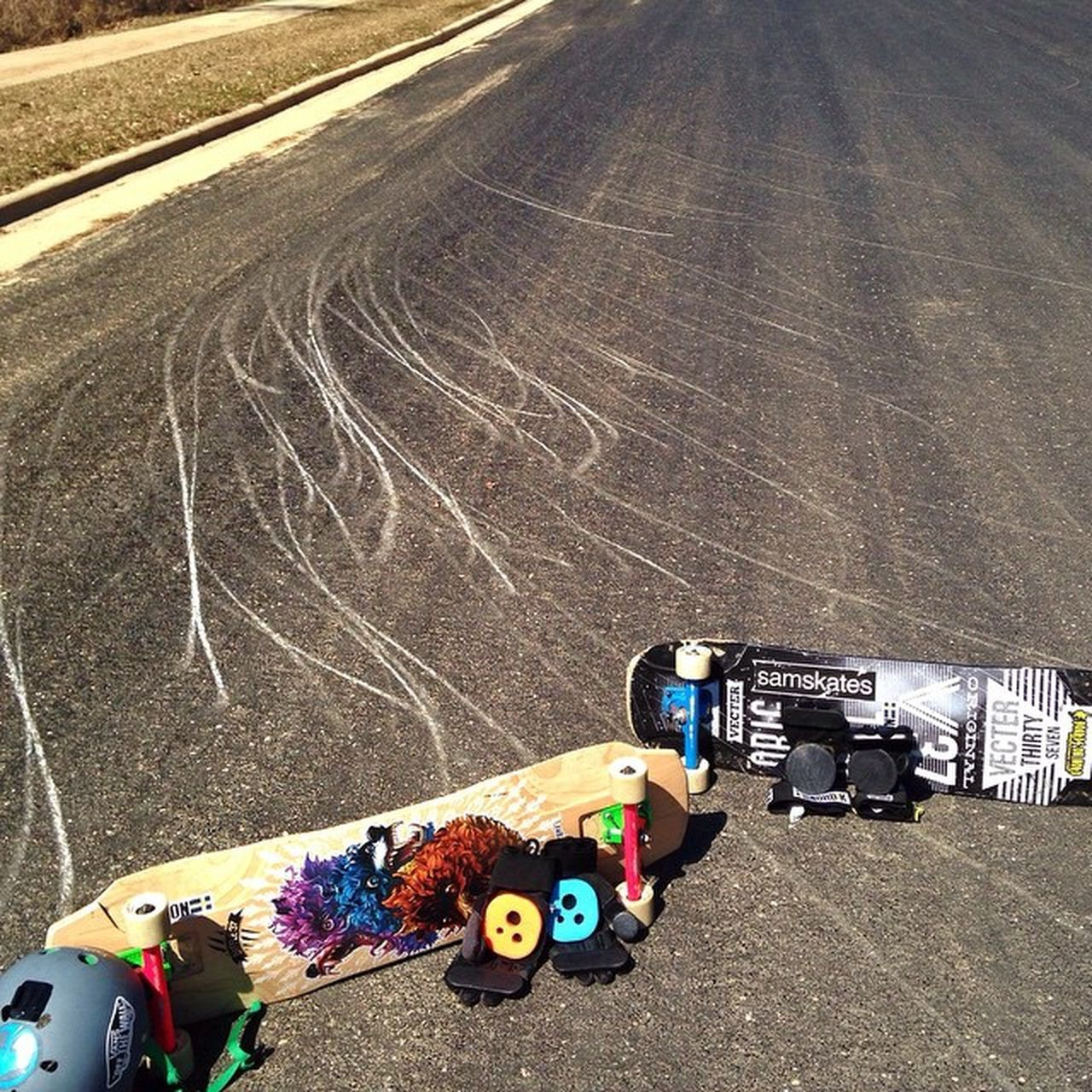 The aftermath from me and @ross_what_up329's session on Tuesday👌💯 --------------------------------------------------Longboard Longboards Longboarder Longboarding Longboardlife Landyachtz Landyachtzlongboards Landyachtzswitchblade Originalskateboards Holesome Holesomepucks Gopro Goprohero Goprohero3 Goprooftheday Goprouniverse Goprohero3plus Baffle37 Sector9