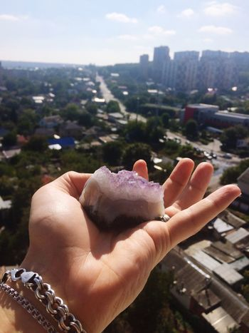 Look On My Way Purple Stone Finding New Frontiers
