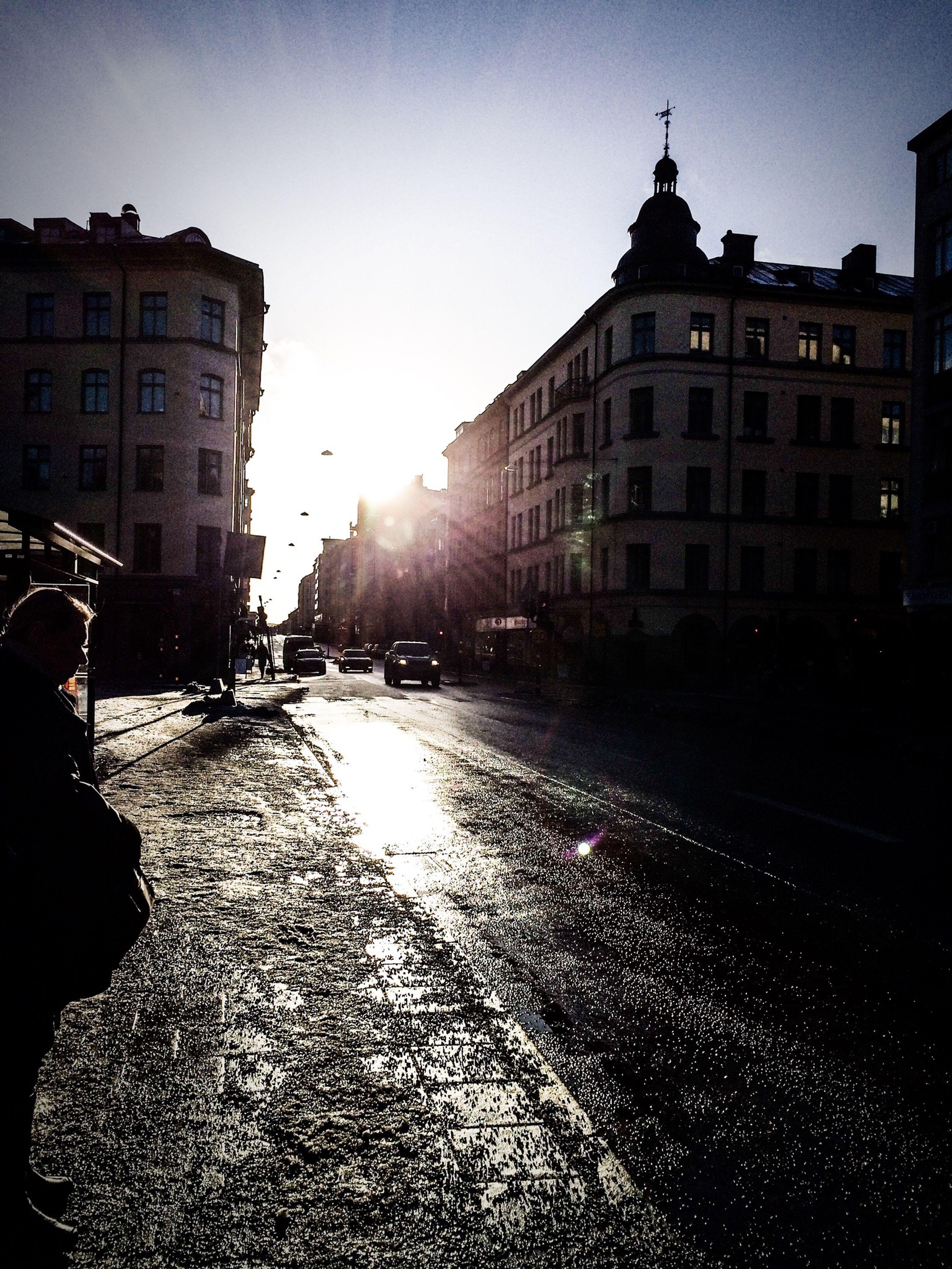 Enjoying The Sun Vårsol