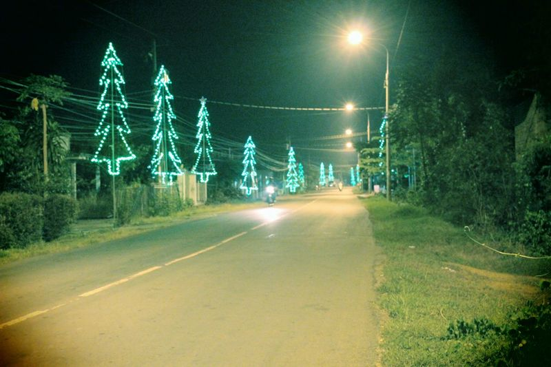 Night Electricity  No People Outdoors Illuminated Electricity Pylon Tree Sky Meeting Friends MerryChristmas Vietnamphotography Hoangvn787