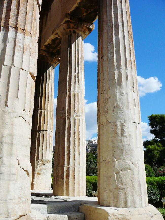 Athens Parthenon Parthenon Acropolis Greece Greece Ruins Ruins_photography Ruins Architecture Architecture Architecturelovers Architecture_collection Athens, Greece Collumns Hellas
