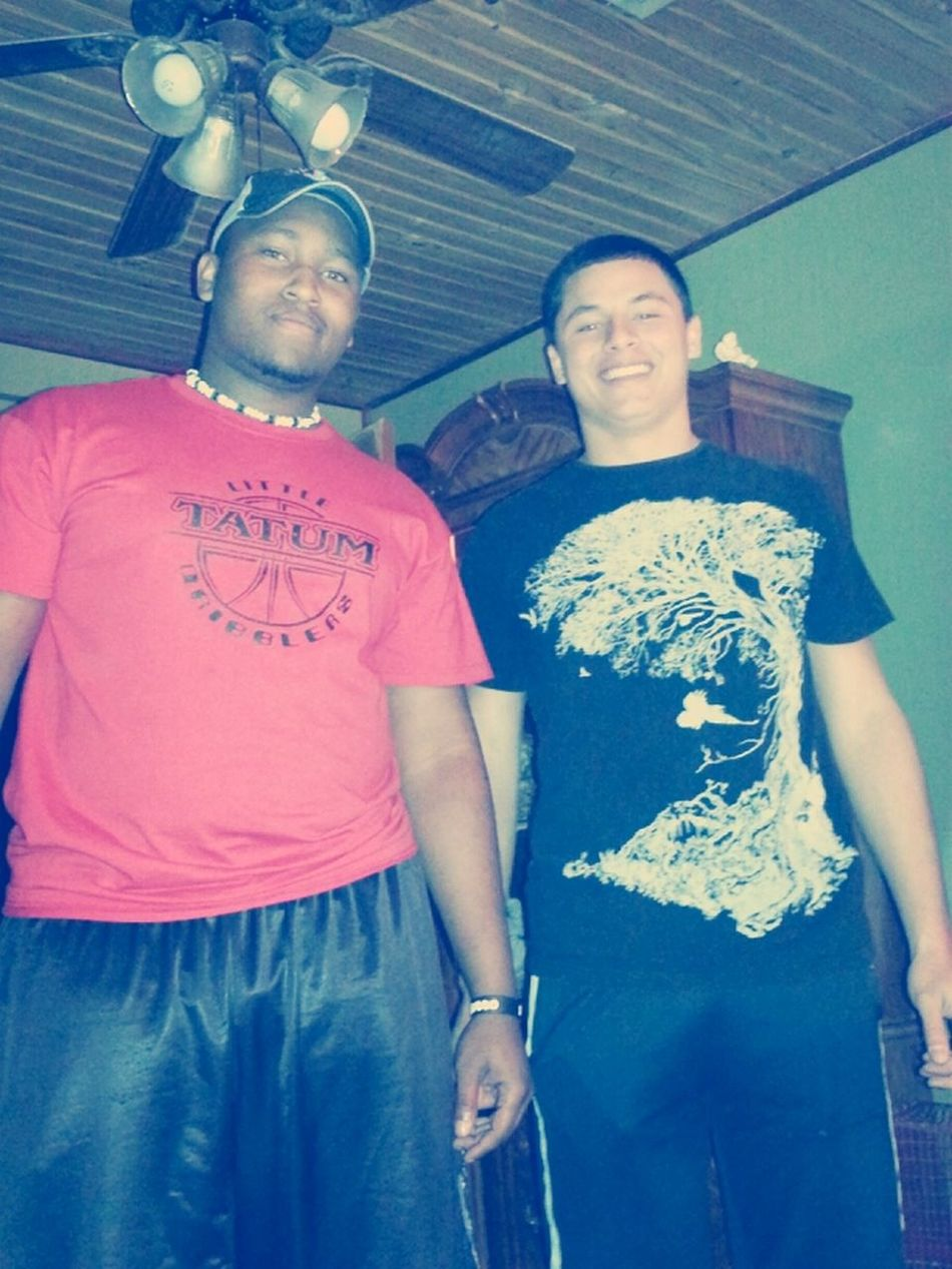 me and damion my bro