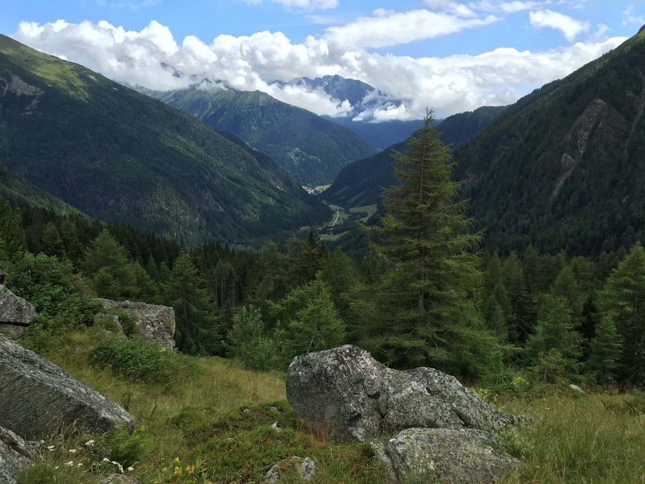 Mountain Nature Beauty In Nature Sky Landscape No People Outdoors Day Austria Hohe Tauern