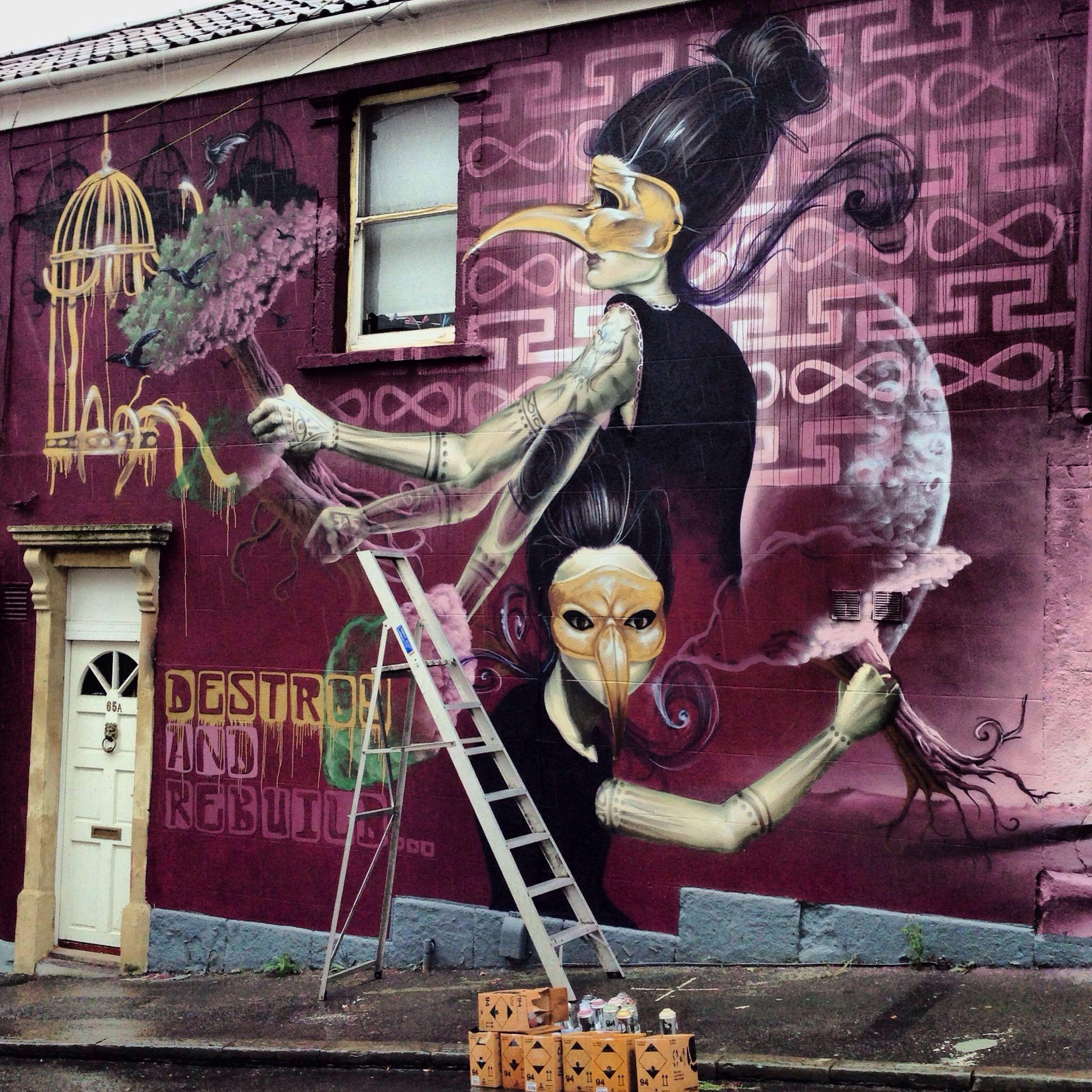 Sokar Uno Street Art Streetart Check This Out