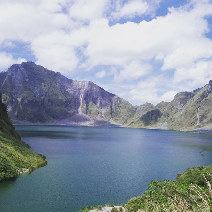 Just can't get enough of this picturesque creation Mtpinatubo BeautifulDisaster 1sthike WondersOfNature
