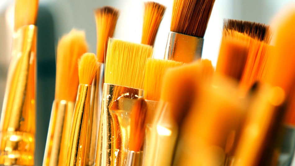Business Close-up Day Indoors  No People Paintbrush
