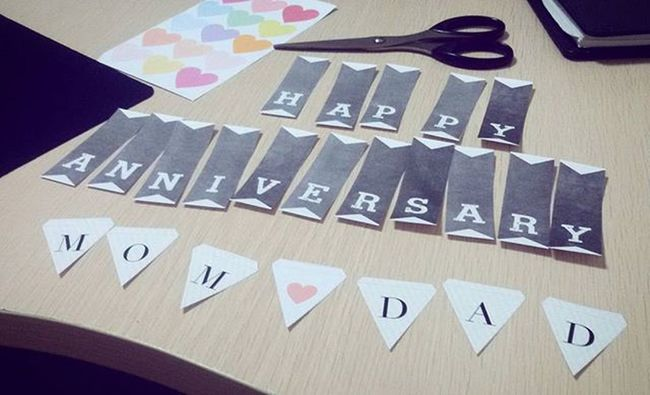 Prepare • • • 🎉 DIY Caketopper Love Banner Buntingflag