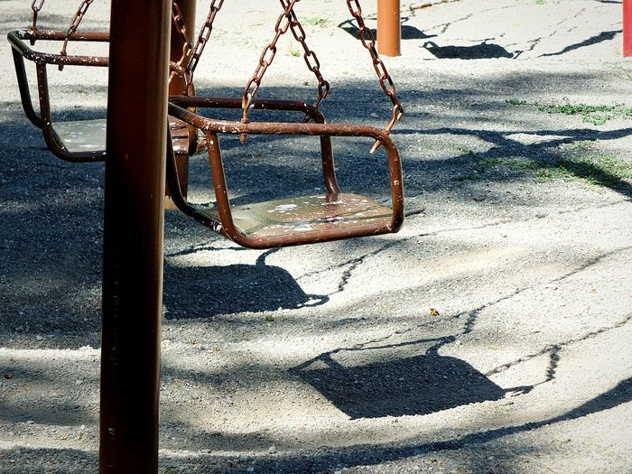 Swings Brown Light And Shadow Taking Photos Hello World Open Edit EyeEm Best Shots Photography EyeEm