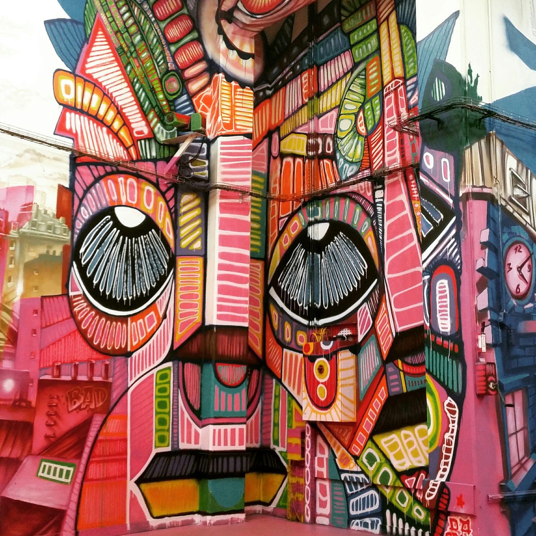 Streetart Caserne De Reuilly Dacruz