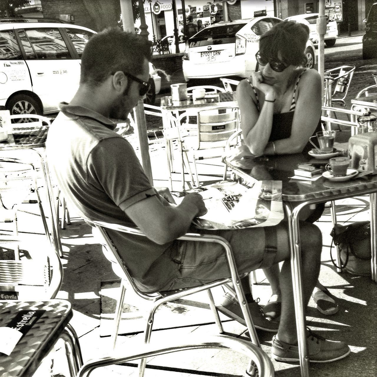 Streetphotography Blackandwhite Shootermag Hipstamatic