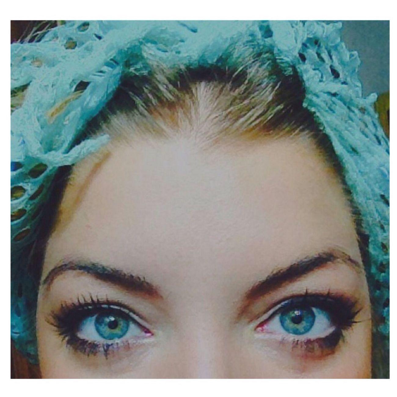 Blue Eyes Eyes Are Soul Reflection Fashio Victim Sexy Girl