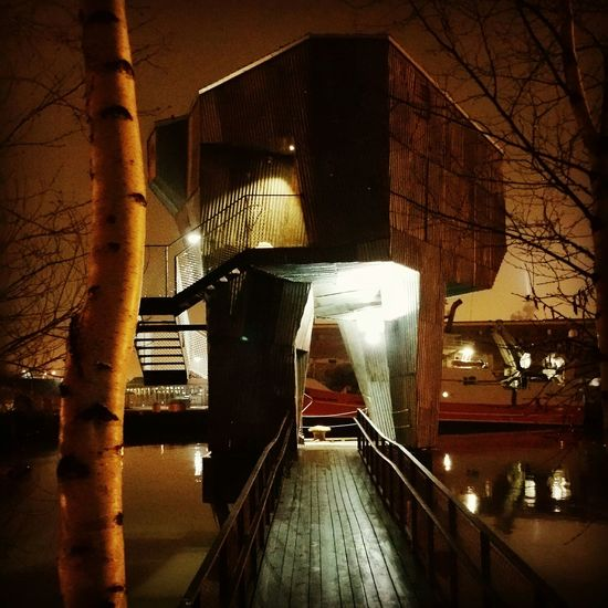 Building Buildinglover BuildingPorn Svettkörkan Sauna Check This Out Enjoying Life Taking Photos Kinde Of Beutiful Winter Weather For Free Buildings And Light Building Exterior Architecture Built Structure Eyem Best Shots My Best Photo 2015