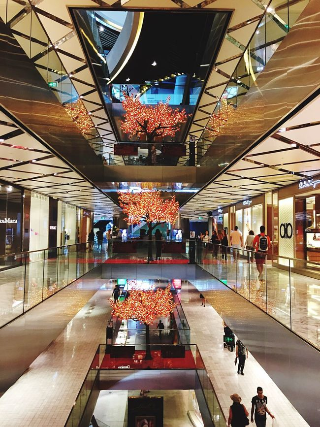Interior Design | Chinese New Year Decoration | Westfield | Architecture Shopping Mall