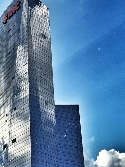 Modern Building Exterior Sky Outdoors City