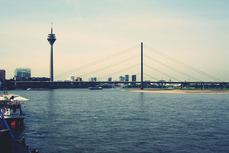 Duesseldorf, Germany Skyline Bridge Cityscapes Canon Photography TheMinimals (less Edit Juxt Photography) Rhein Canon 1000D Welovedus Duesseldorf
