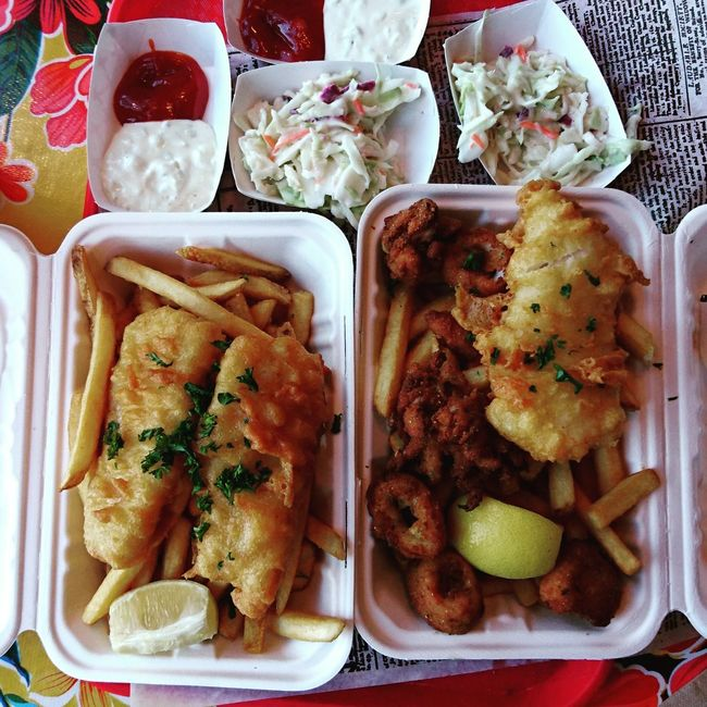 Food And Drink Food Ready-to-eat San Francisco California Share The Meal Meal Fish And Chips... ShareTheMeal