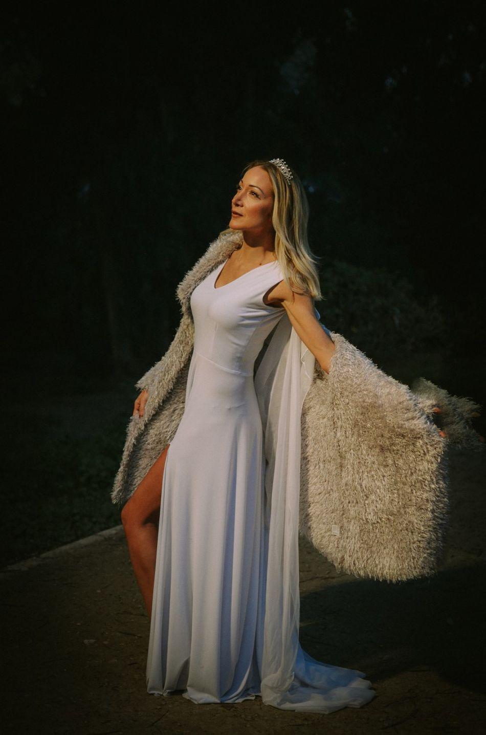 Diva♥ Beautiful Woman Cyprus Blond Hair Nicosia Nightphotography