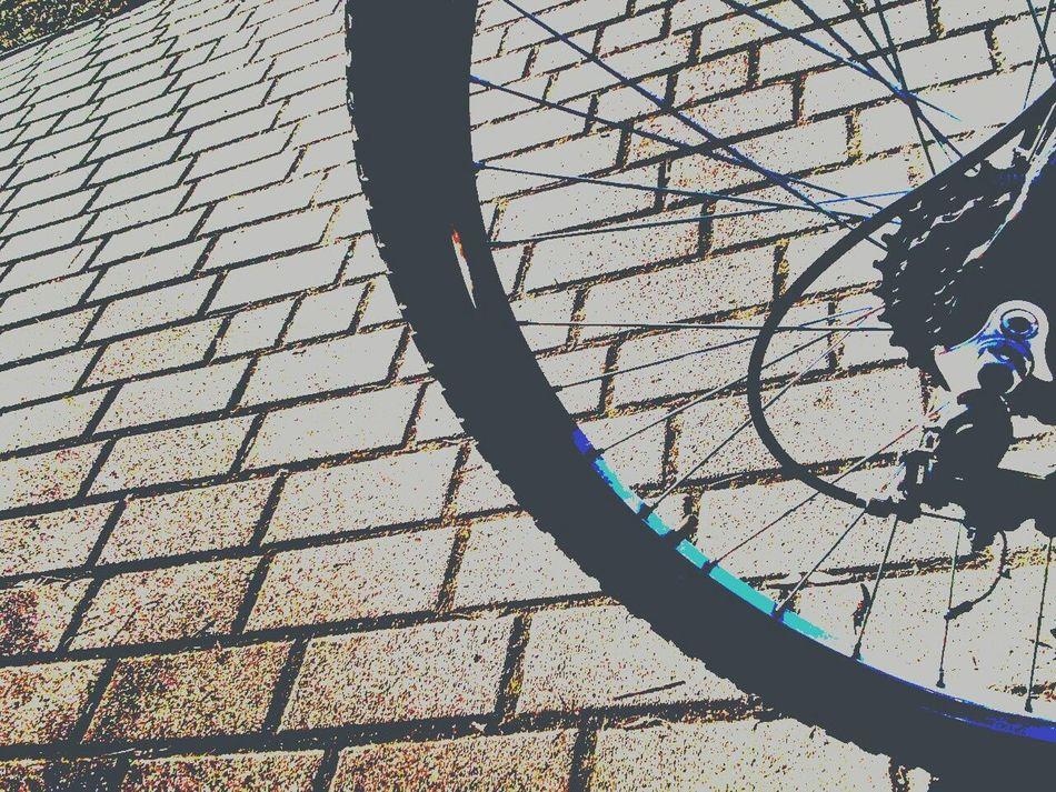 Bike Bike Wheel Excercising Biking Little Break Polarized Effect Eyeem Biker
