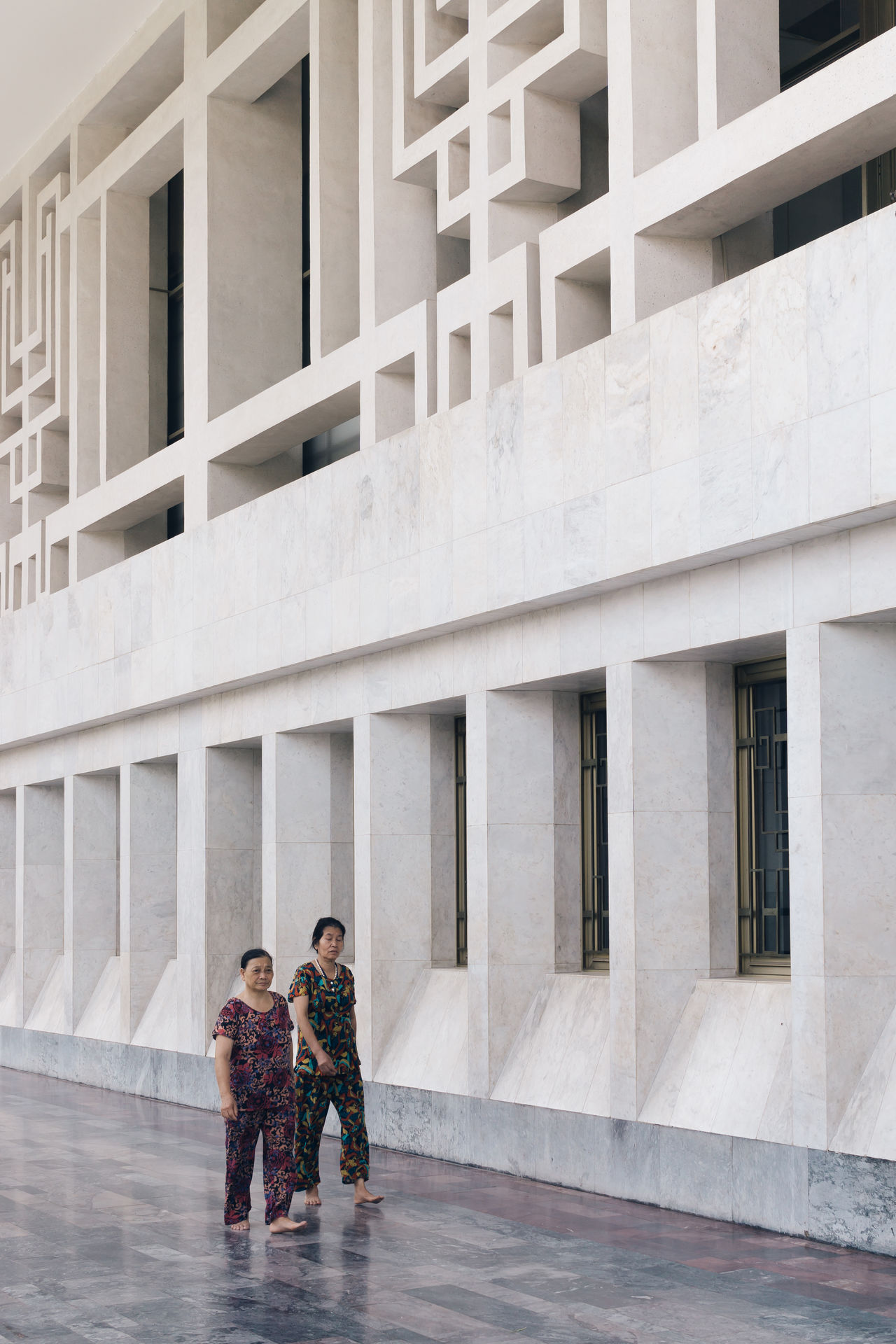 Architectural Detail Architecture Architecture Architecture_collection Building Exterior Built Structure Day Hanoi Outdoors People Real People Togetherness Travel Travel Destinations Travel Photography Traveling Vietnam Walking Women The Street Photographer - 2017 EyeEm Awards The Architect - 2017 EyeEm Awards