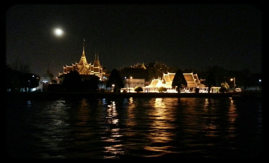 Night Lights; By Chao Phaya River, BKK, THA Nightcall Divearchitecture Divelandscape