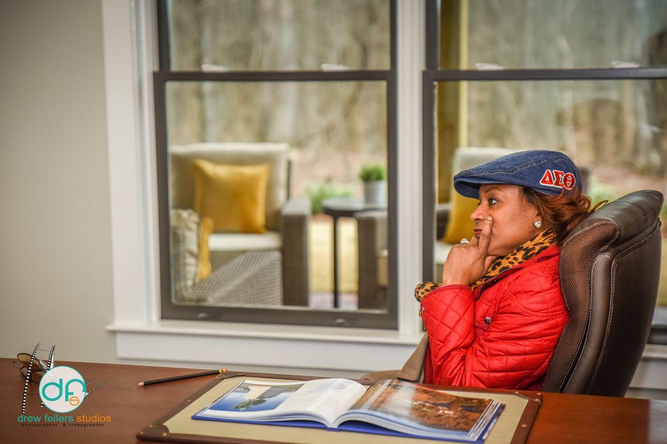 In deep thought! Delta Sigma Theta Atlanta Ga Atlanta, Georgia Taking Photos DrewFellersStudios Showcase: February