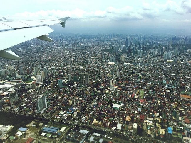 Metro Manila Aerial View Eyeem Philippines View From An Airplane Urban Landscape