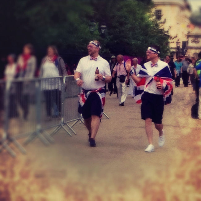 And we're finally here! #london2012