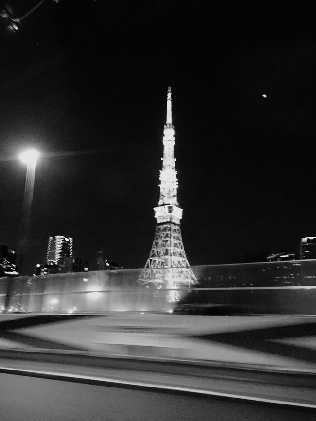 Black And White Sightseeing Tokyo Tower