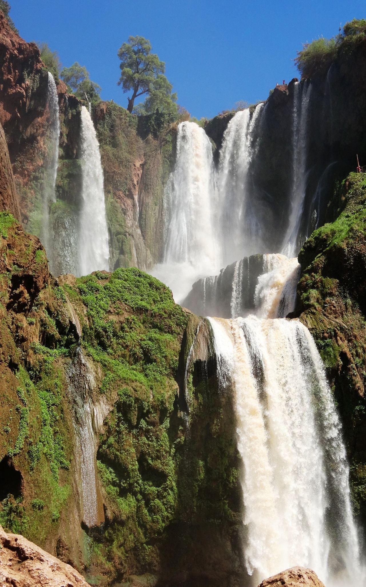 Ouzoud Falls Waterfall