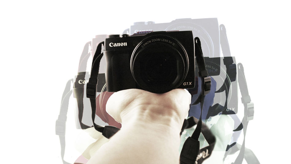 """""""A camera teaches you how to see without a camera."""" Quote Camera Photoshop Canon PowerShot G1 X Graphic Design Student"""
