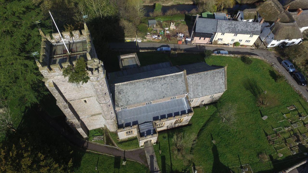 Culmstock Devon High Angle View Church Tower EyeEmNewHere The Great Outdoors - 2017 EyeEm Awards